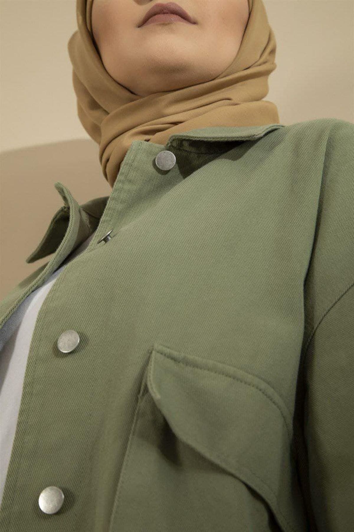 Kadın Mevsimlik Ceket - Açık Yeşil