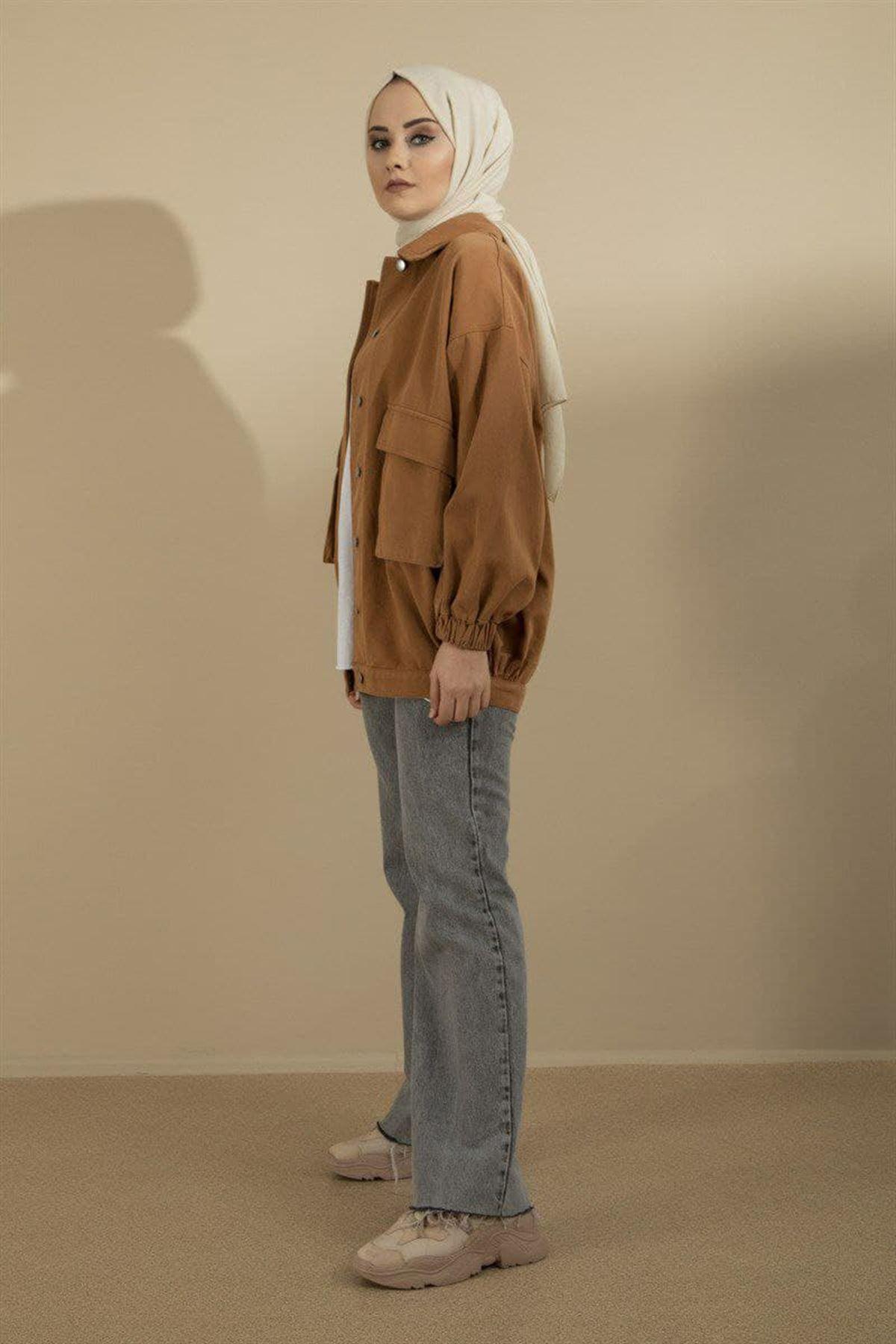 Kadın Mevsimlik Ceket - Kiremit
