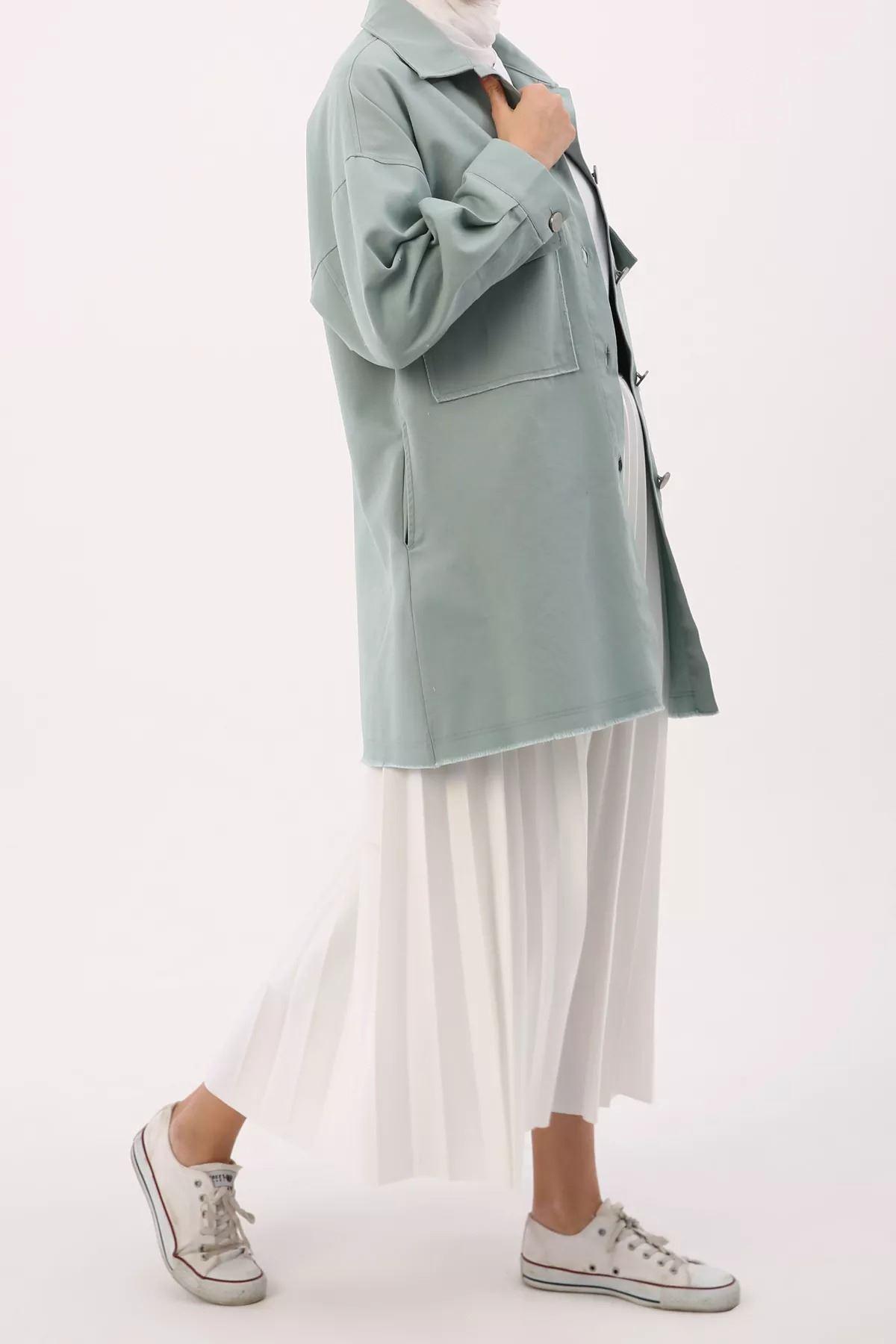 Kadın Ceket - Mint Yeşili