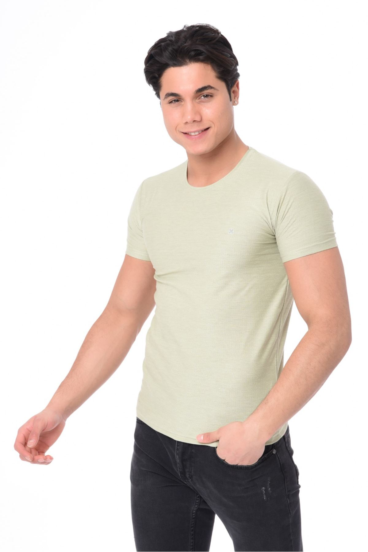 Erkek Basic Thisört-su yeşili
